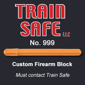 Custom Firearm Barrel Block - Train Safe